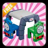 Train Kids Toys Puzzle