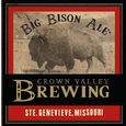 Logo of Crown Valley Big Bison Ale