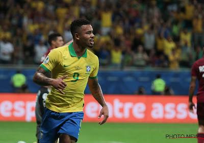 Gabriel Jesus knalt Brazilië vanop de stip naar de halve finale van de Copa América