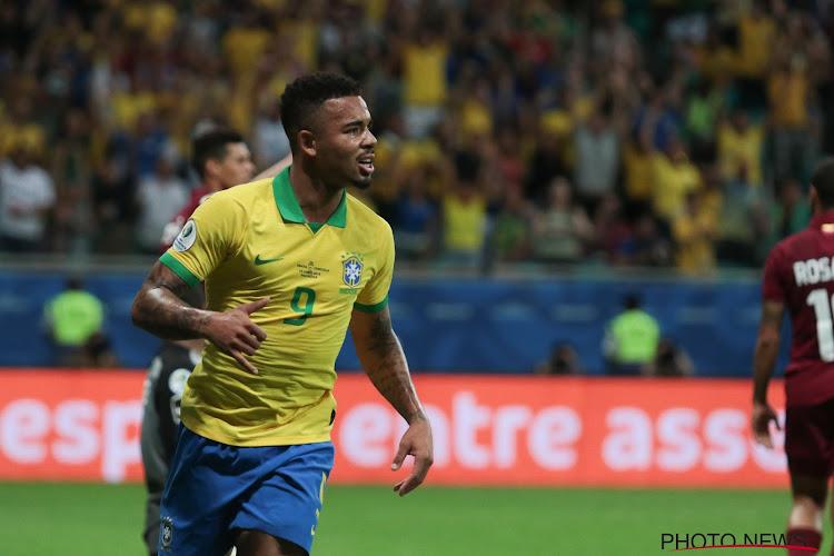 Gabriel Jesus suspendu pour une longue durée par la CONMEBOL