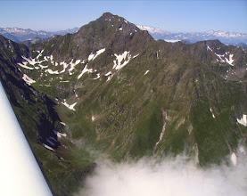 Photo: Vallon d'Urets devant le pic de Maubermé 2880m.