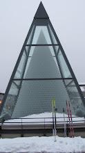 Photo: Zwiesel, weltgrößte Glaspyramide, 93665 Weingläser übereinander