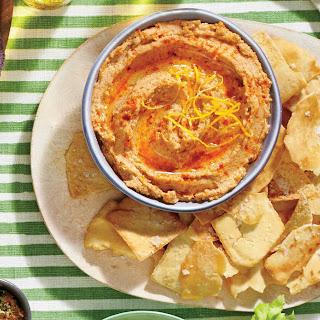 Smoky Black-Eyed Pea Hummus Recipe