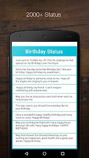 Birthday Status | Wishes 2017 - náhled