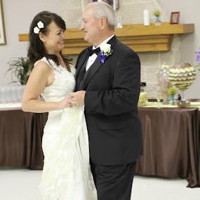 Happiness's 1st Dance at 55 by Terri Moore - Wedding Bride & Groom