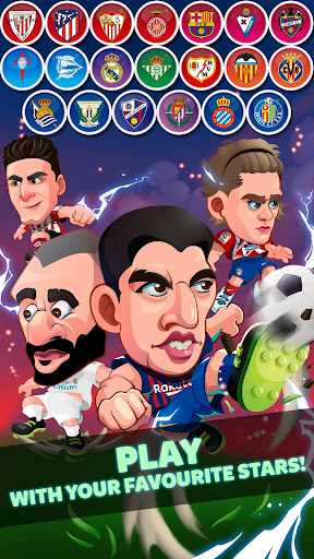 Head Soccer La Liga 2018 - Soccer Games  gameplay | by HackJr.Pw 3