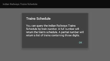 Screenshot of Indian Railways