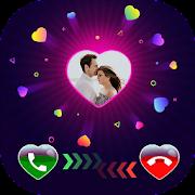 Heart Color Caller Screen - Heart Call Screen