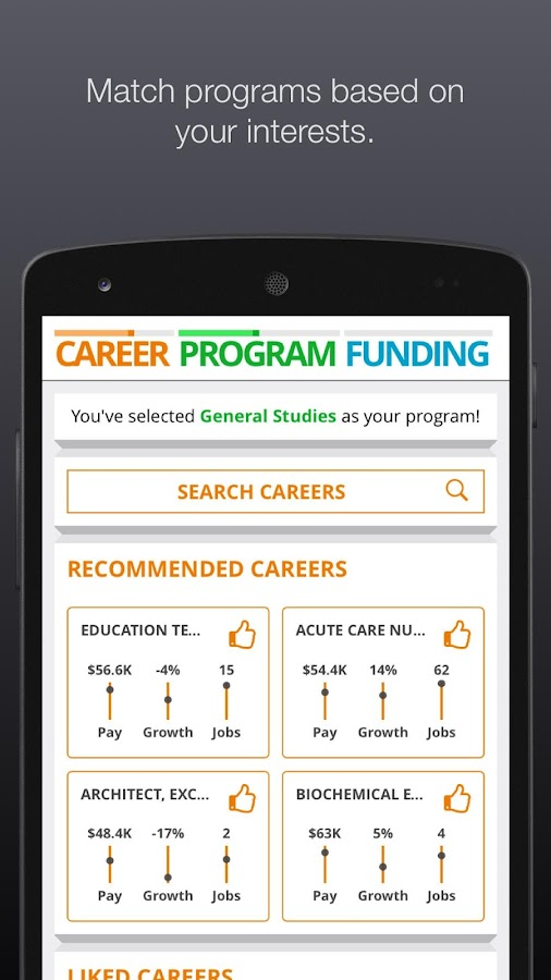 CACC App- screenshot