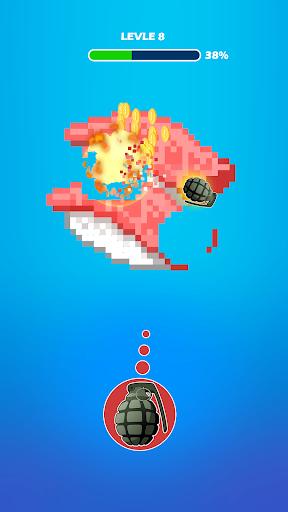 Hit the Pixel - Guns & Bricks apkdebit screenshots 4