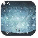 You and Me Sweet Love couple keyboard icon