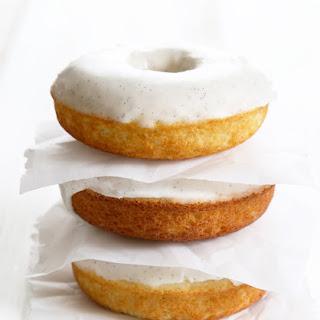 Gluten Free Glazed Vanilla Bean Donuts