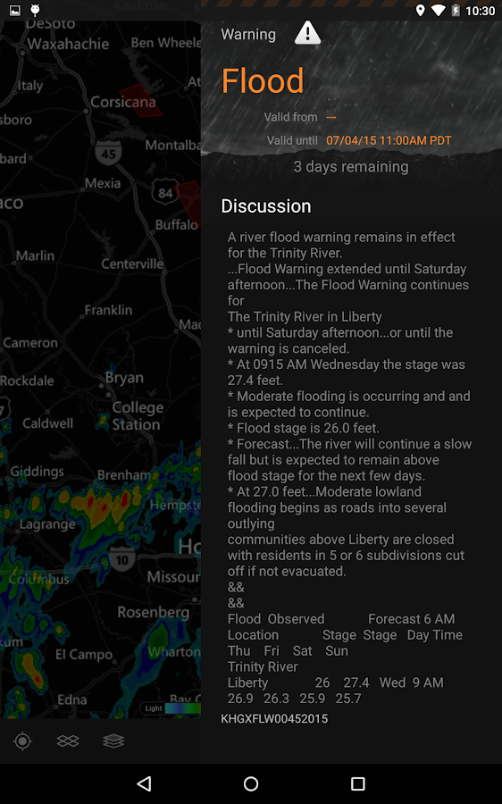 MyRadar Weather Radar Ad Free- screenshot