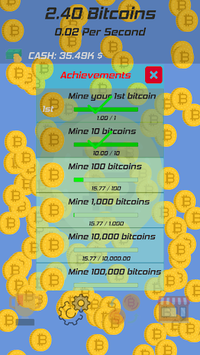 Bitcoin Clicker screenshot 4