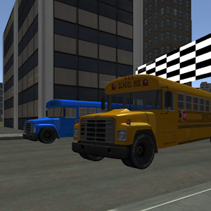 School Bus City Racing for PC and MAC