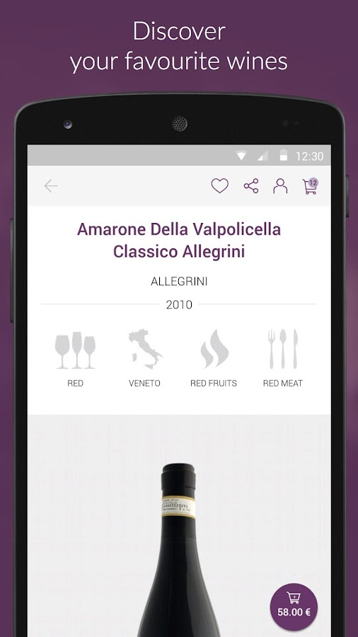 VINO - Italian Wine Club- screenshot