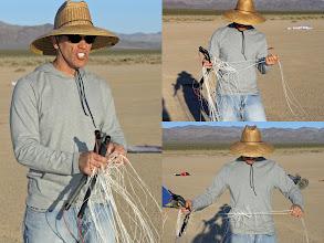 Photo: Joe Hadzicki of Revolution Kites at NABX (Lake Ivanpah, CA)