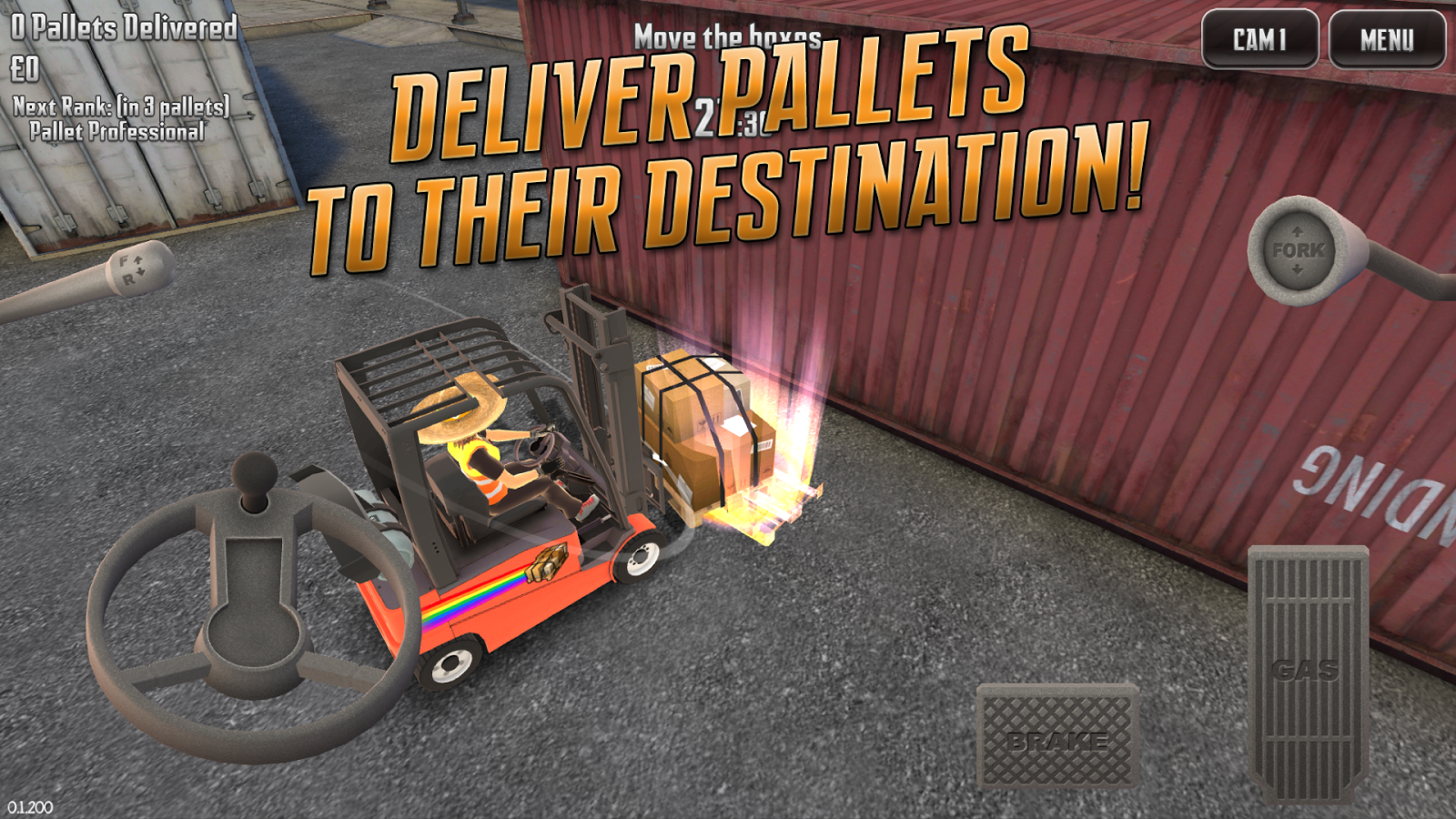 Extreme Forklifting 2- screenshot
