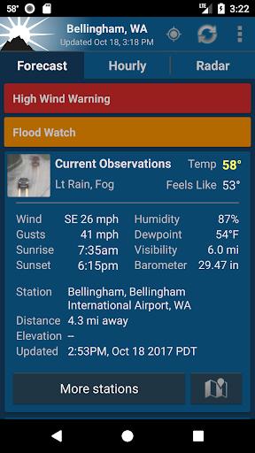 NOAA Weather Unofficial Screenshot