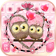 Download Pink Love Owl keyboard For PC Windows and Mac