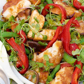 Char Siu Chicken Salad.