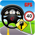 Car GPS Expert, Speed Limit &Floating speedometer. icon