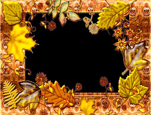 Beautiful Fall Photo Frames