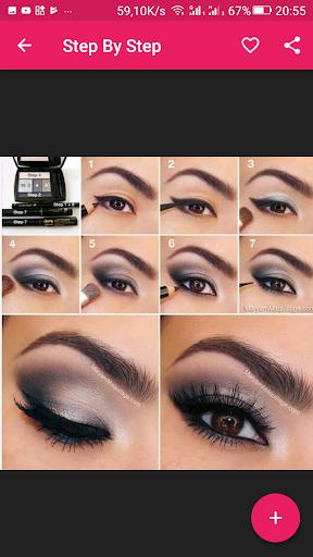 Eyes makeup steps for girls 2.1.2 screenshots 1