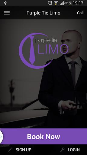 Purple Tie Limo