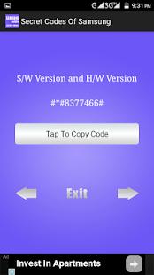 Secret Codes of Samsung - náhled