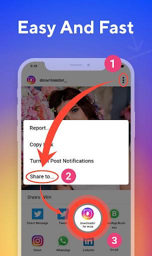 Photo & Videos Downloader for Instagram screenshot 12