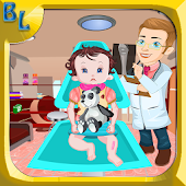 Baby Lisi Leg Fracture