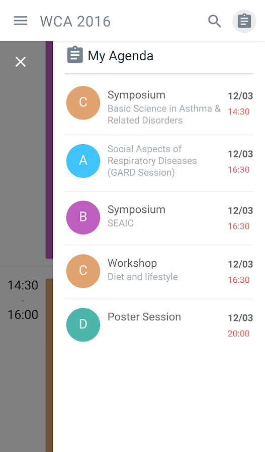 XXIII World Congress of Asthma- screenshot