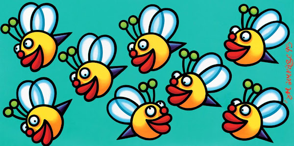 <p> bee line</p>