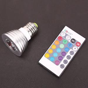 Bec Smart LED RGB 16 culori si telecomanda