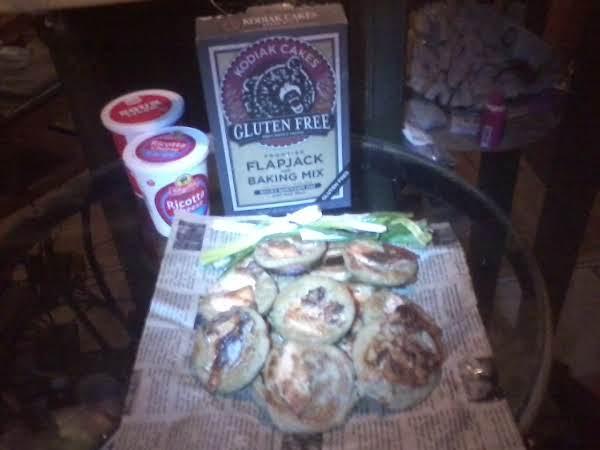 Bounty Silver Doller Salmon Flapjacks Recipe
