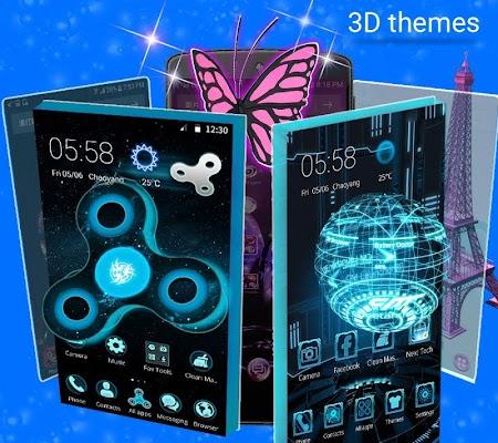 CM Launcher 3D -Free Theme & Live Wallpapers - screenshot