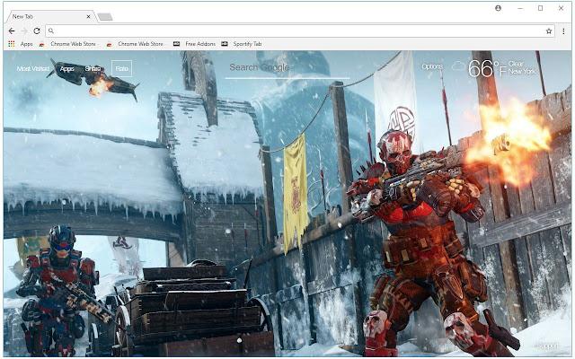 Call Of Duty Black Ops 4 HD Wallpaper New Tab