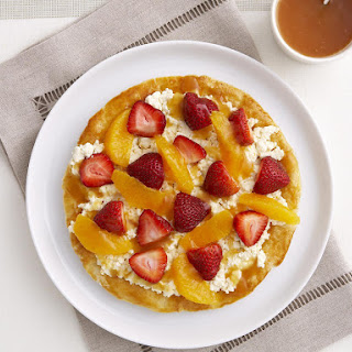 Strawberry and Ricotta Tart.