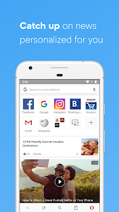 Opera browser beta 50.0.2426.136094