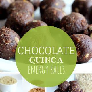 Chocolate Quinoa Energy Balls.