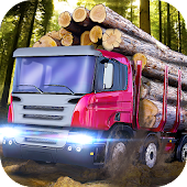 Logging Trucks Driving Simulator - deliver timber!