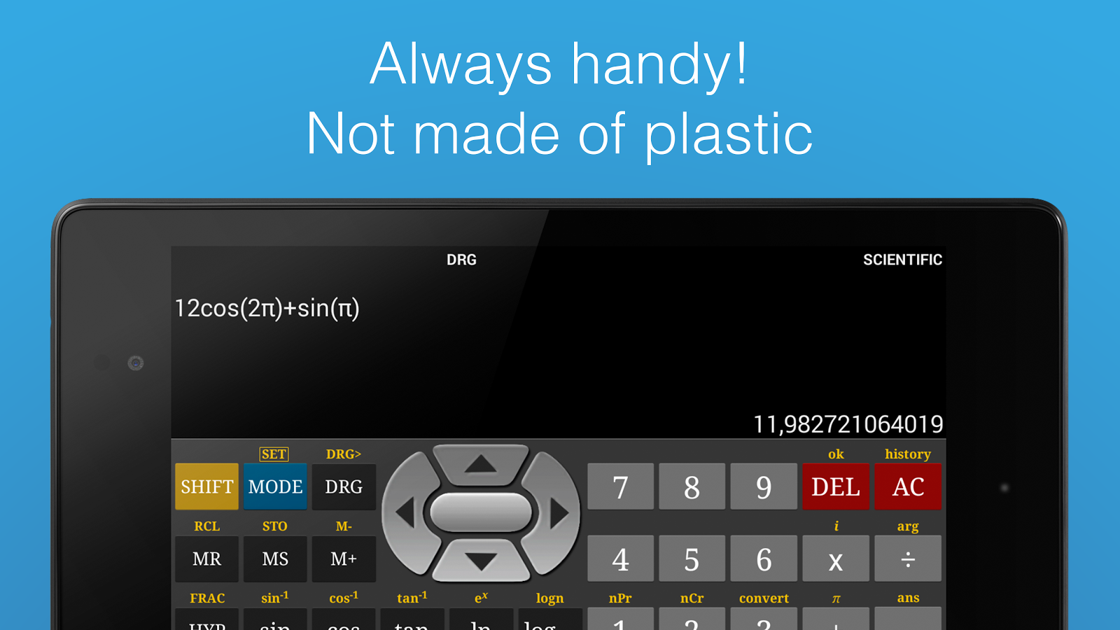 Scientific Calculator Pro- screenshot