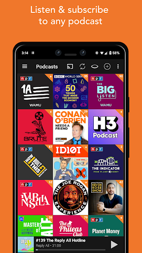 Podcast Addict screenshot 3