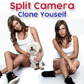 Split Lens Camera - Clone Your Self