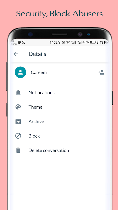 SMS Go - Android Messaging App screenshots