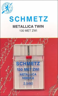 Metallic Tvillingnål