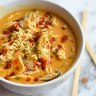 Thai Ramen Pumpkin Soup
