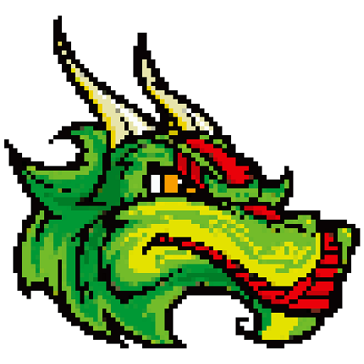 Dragons Color by Number - Pixel Art Coloring Book Icon