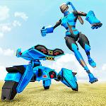 Bunny Robot Games: Flying Drone Robot Hero icon